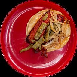 Taco Chorizo Español