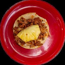 Taco Pastor Tortilla Grande