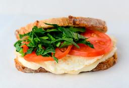 Sándwich de Claras con Mozzarella