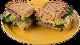 Sándwich Super Hummus Veggie