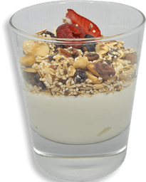 Yogurt con Frutos Rojos