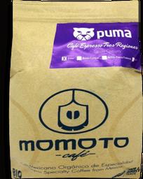 Café en grano espreso puma Momoto 454 g
