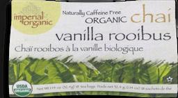 Té Vanilla Rooibus Chai  Imperial Organic 32.4 g