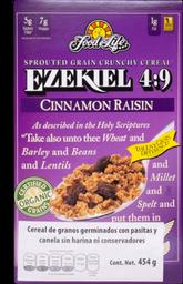 Cereal Ezekiel 4:9 Pasas Canela 454 g