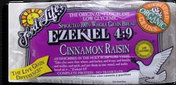 Pan cereales germinados pasitas y canela Ezekiel 680 g