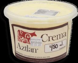 Crema Aztlán de Leche de Vaca 450 g
