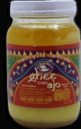 Ghee La Cocina Verde con Ajo Sustito de Mantequilla  235 g