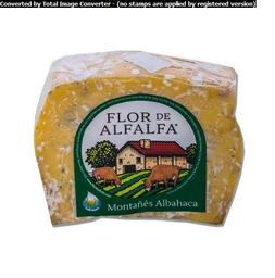 Queso montanes aderezado con albahaca Flor de Alfalfa Kilo