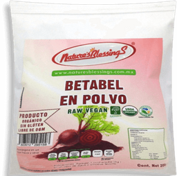 Betabel en polvo Natures Blessings 200 g