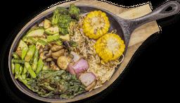 Teppanyaki de Verduras