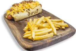 El Mac & Cheese Hot Dog