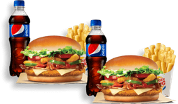 2 Combos Whopper® Angry