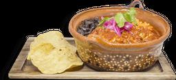 Carnitas en Salsa Roja