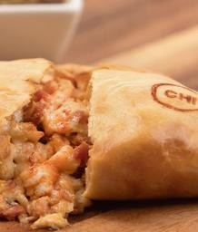 Empanada Chistorra a los cuatro quesos