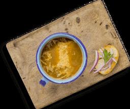 Sopa de Cebolla y Parmesano