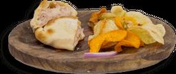 Empanada de Jamón y Mozzarella