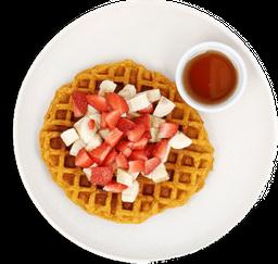 Waffle de Camote