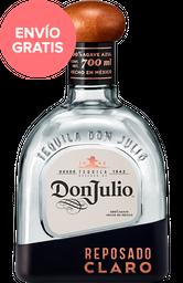 Tequila Don Julio Reposado Claro Botella 750 mL