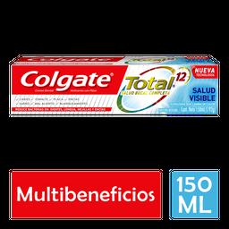 Pasta Dental Colgate Total 12 Salud Visible 150 mL