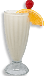 Malteada Orange