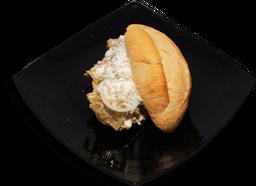 Torta Chilaquilli con Guarnición
