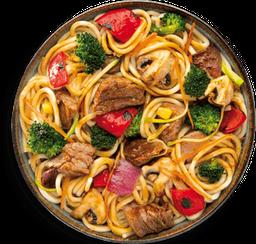 Noodles de Arrachera