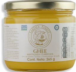 Earth'S Finest Ghee Mantequilla Clarificada 300ml
