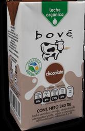 Leche Bové Sabor Chocolate Orgánica Tetrapack 236 mL