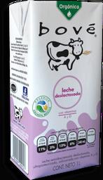 Leche Bové Deslactosada Orgánica Tetrapack 1 L