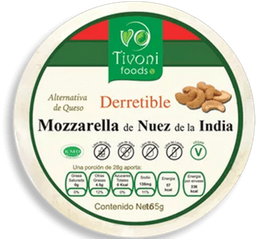 Queso Tivoni Foods Mozzarella Derretible 65 g