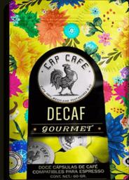 Capsulas Cafe Decaf Bolsa C/12 Cap Café