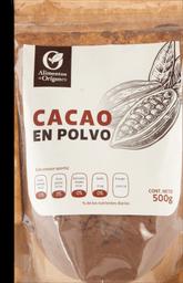Cacao En Polvo Origenes 500 g