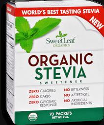 Endulzante Natural Stevia Sachets 70 g
