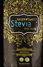 Mayan Sweet Stevia geen Leaf 40 g