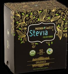 Mayan Sweet Stevia Polvo Verde 50 Sobres