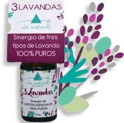 Aceite De 3 Lavandas Via Natural