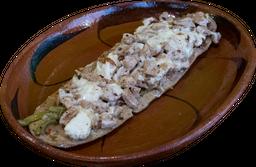 Huarache de Chuleta