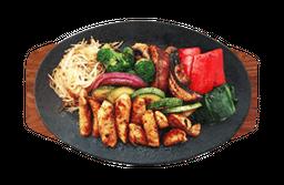 Teppanyaki de Pechuga de Pollo