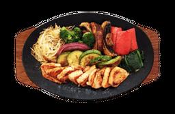 Teppanyaki de Salmón