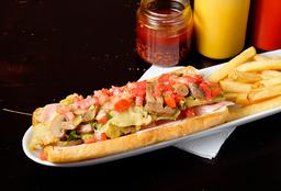 Hot Dog Chacaloso