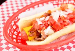 Hot Dog Queso Amarillo