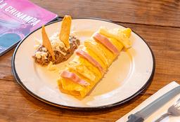 Omelette de Jamón y Queso