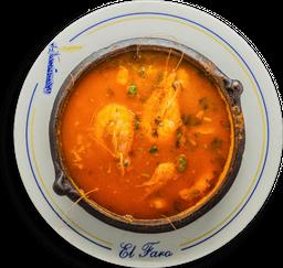 Sopa Faro de Mariscos