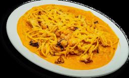 Espagueti de Mariscos