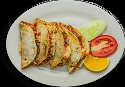 Tacos de Marlín con Queso 4 piezas