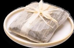 Tamal de Chepil con Frijol
