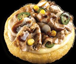 Rib Eye Pizza