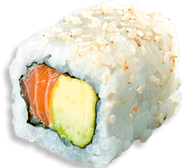 Salmón Avocado Uramaki