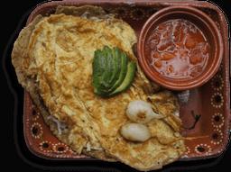 Huarache con Huevo