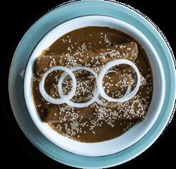 Enchiladas de Mole (Especialidad de la Casa)